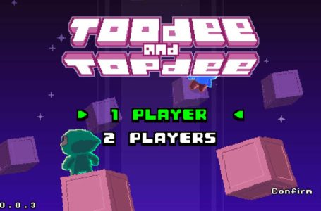 How to play co-op in Toodee and Topdee