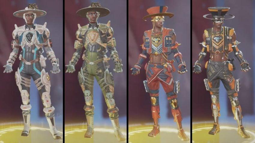 Seer Standard Legendary skins