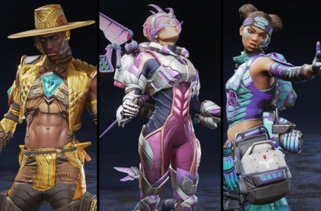 All Legend skins for the Apex Legends Season 10: Emergence Battle Pass