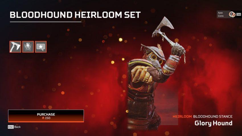 Bloodhound Heirloom Stance