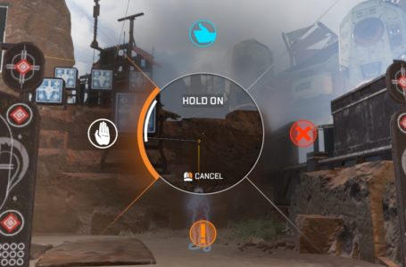 How to use the Hold On ping in Apex Legends