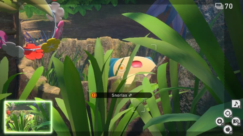 New Pokemon Snap Snorlax