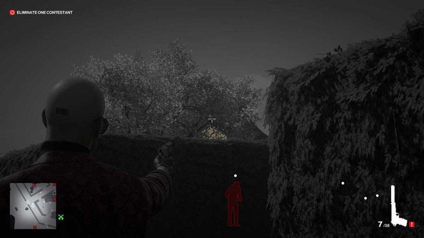 shoot-the-bell-hitman-3-dartmoor-garden-show