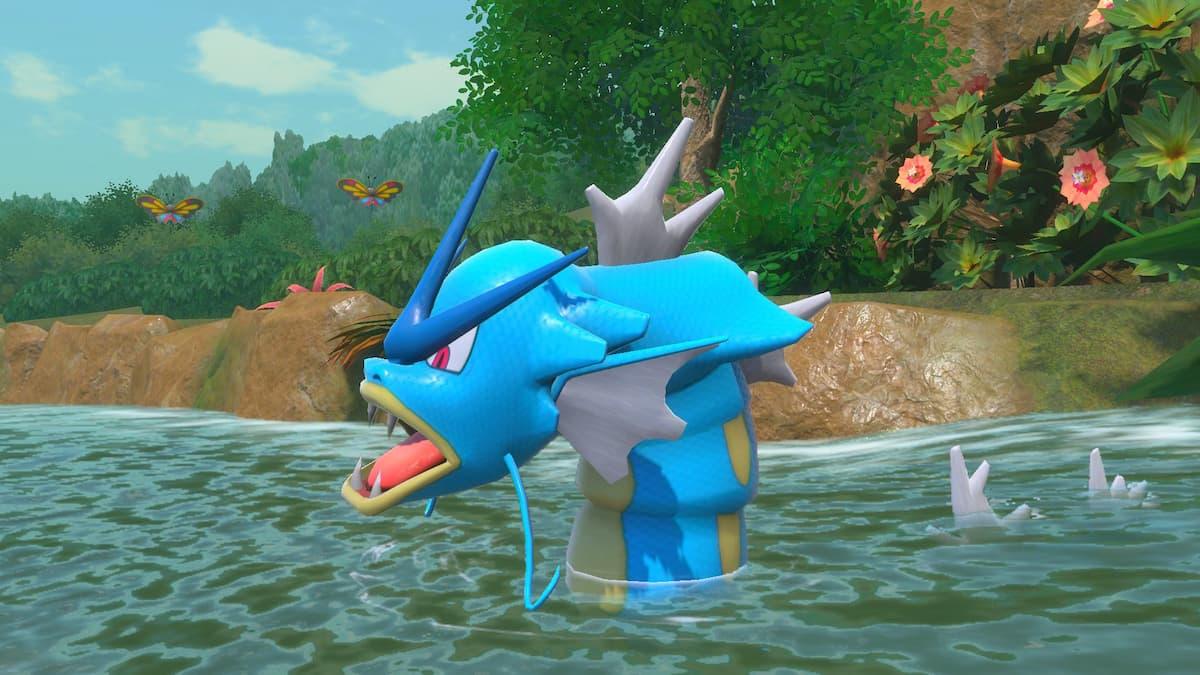 New Pokemon Snap Gyarados