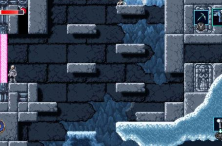 How to open pink barriers in Axiom Verge 2