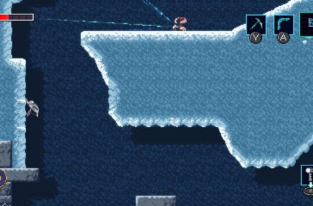 How to climb and grab ledges in Axiom Verge 2