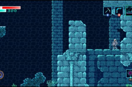 How to beat the underwater boss in Axiom Verge 2