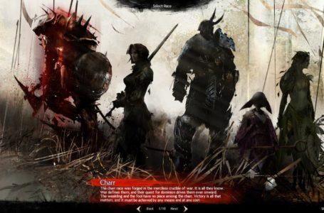 Best race for each profession in Guild Wars 2