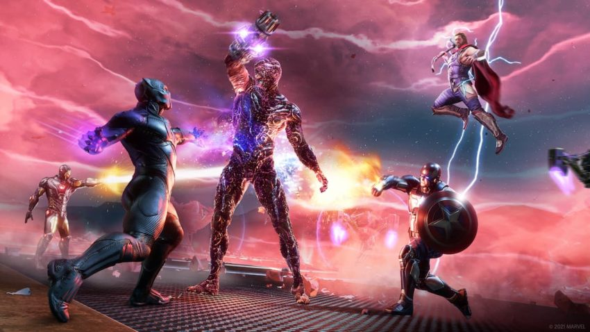Avengers War for Wakanda Klaue fight