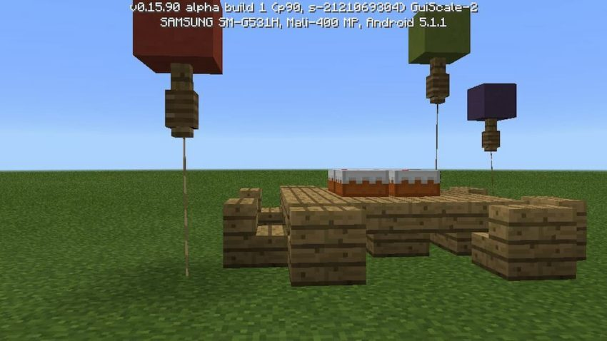 How to make balloons Minecraft (1)