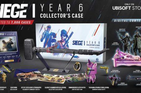Ubisoft announces Rainbow Six Siege Year 6 Collector's Case
