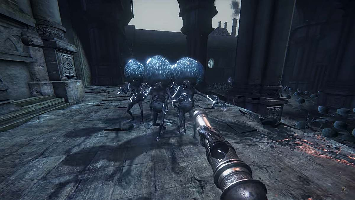 Bloodborne first person perspective mod