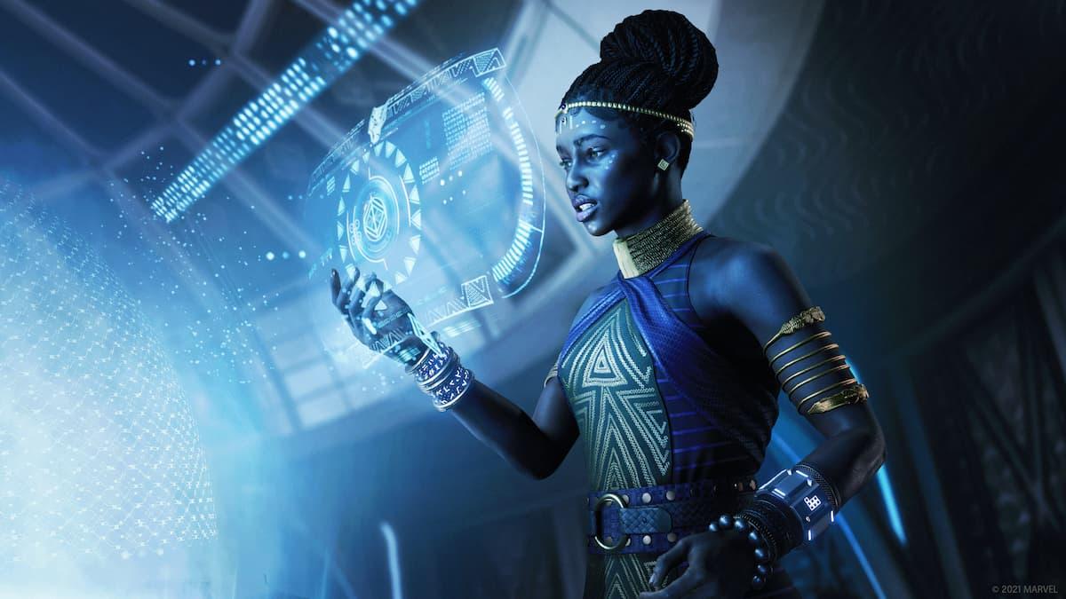 Shuri Marvel's Avengers War for Wakanda