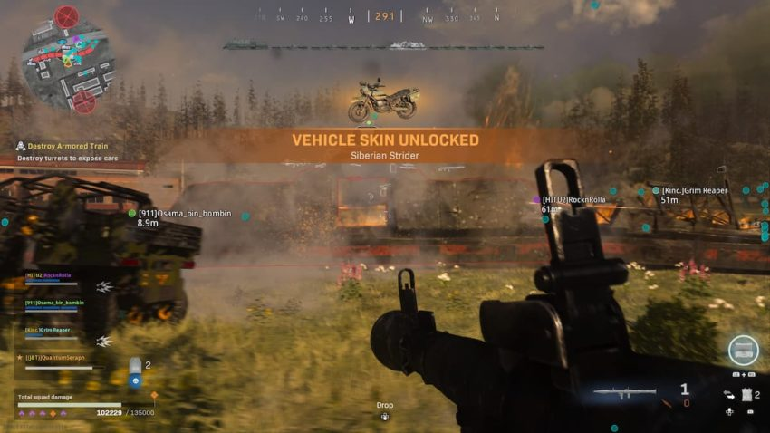 Call of Duty: Vanguard Warzoe Battle of Verdansk rewards