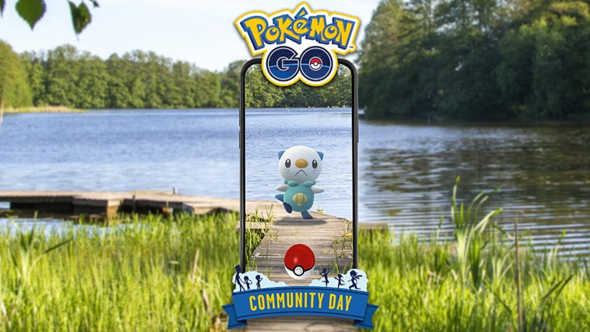 Oshawott Community Day Pokemon Go
