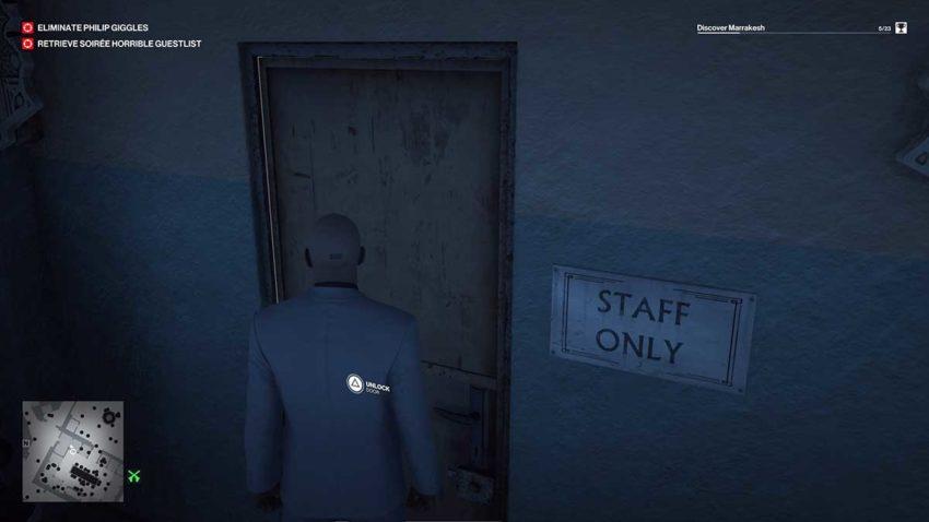 staff-room-door-sheesha-cafe-hitman-3-the-entertainer
