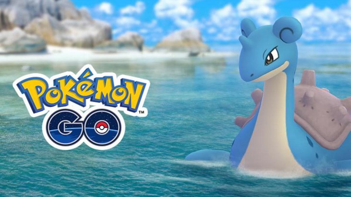 lapras Pokemon Go.