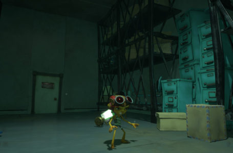 How to escape the storage room in Psychonauts 2