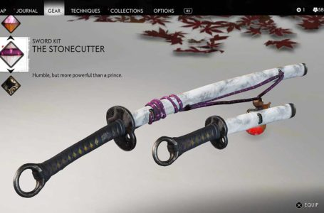 How to find the The Stonecutter Sword Kit in Ghost of Tsushima