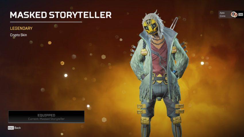 Masked Storyteller