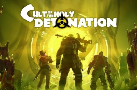 What is the release date of Wasteland 3: Cult of the Holy Detonation DLC?