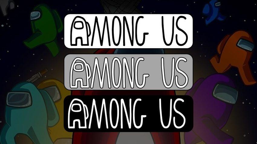 Among Us Logo variants