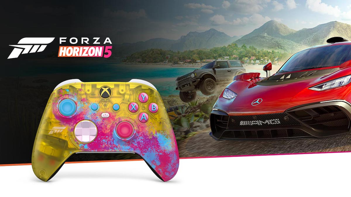 Forza Xbox controller