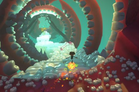 What does the emotional baggage unlock in Psychonauts 2?