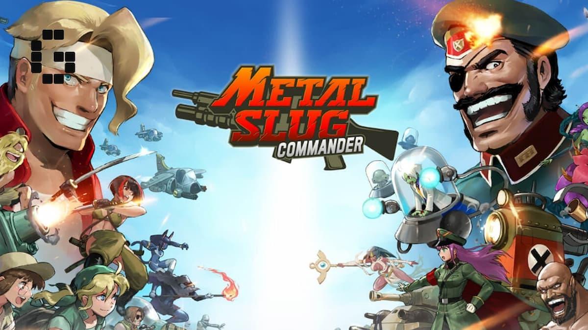 Metal Slug Commander working codes