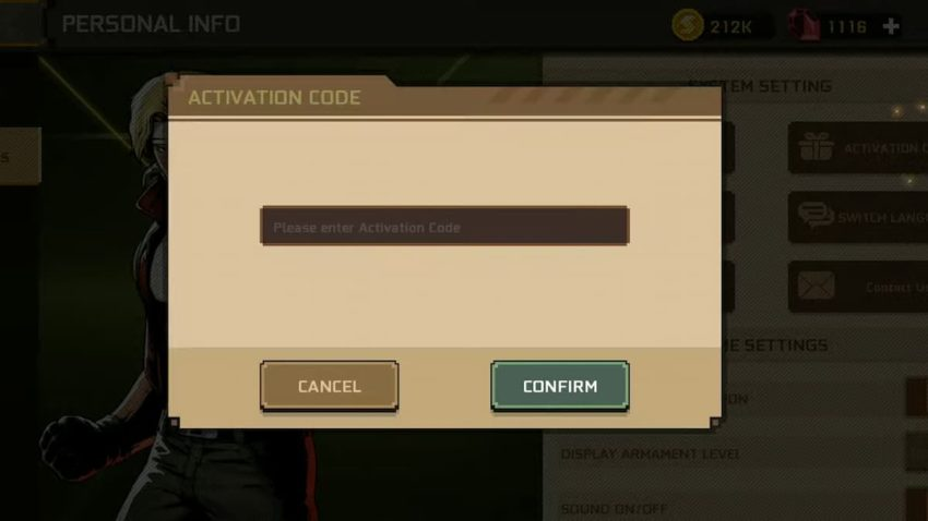 Metal Slug Commander latest working codes