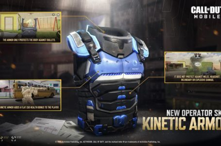 Call of Duty: Mobile – What is Kinetic Armor Operator Skill and how to unlock it