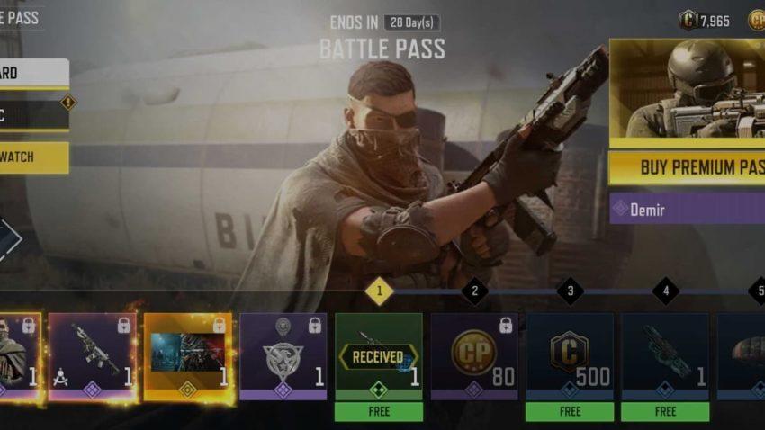 COD Mobile Season 7 Battle Pass free and premium rewards list