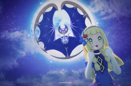 Anniversary Sync Pair Lillie and Lunala moves in Pokémon Masters EX