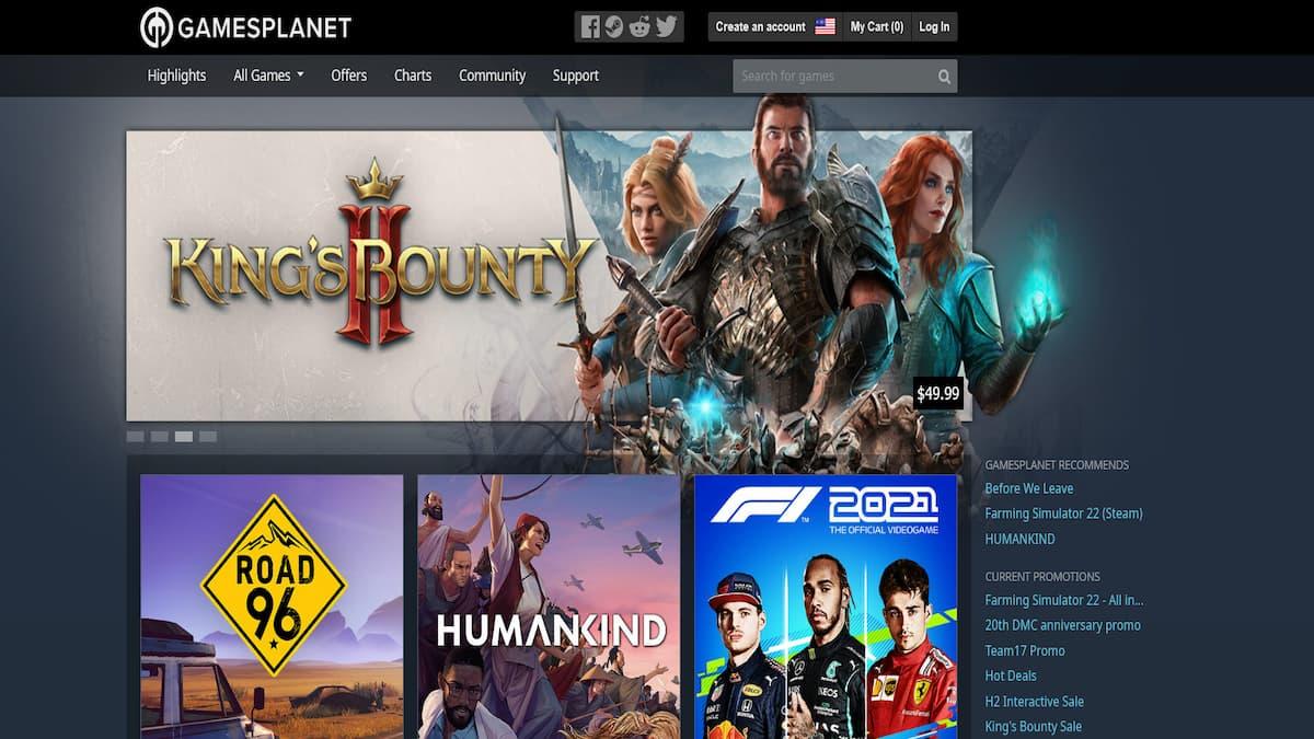Gamesplanet PC Steam