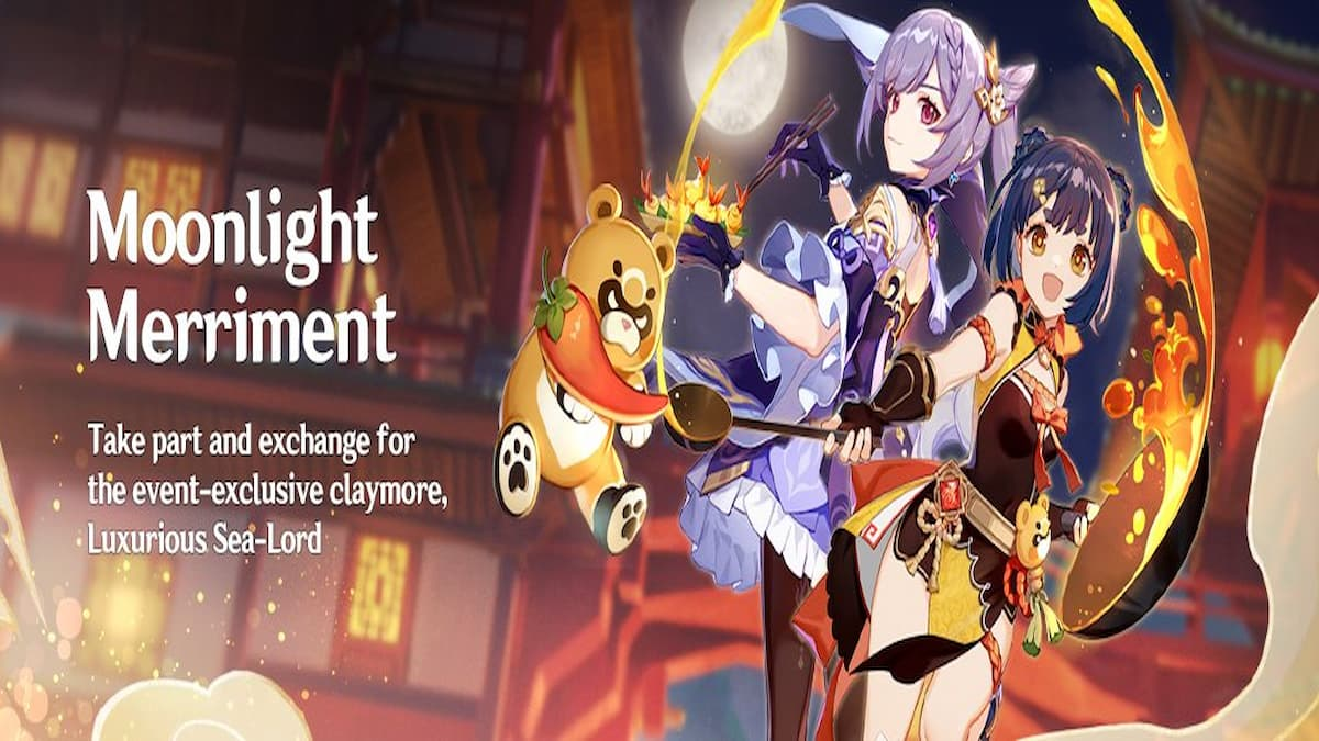 Genshin Impact Moonlight Merriment how to get Luxurious Sea-Lord and refinement materials