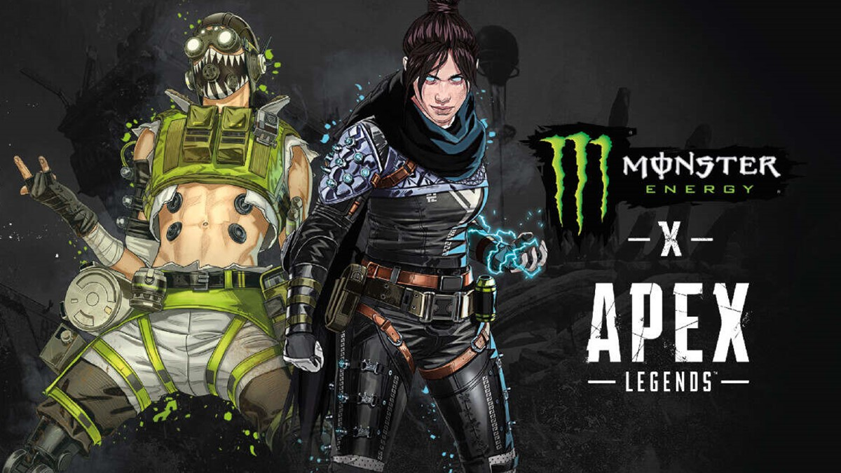 Apex Legends x Monster Energy Collaboration