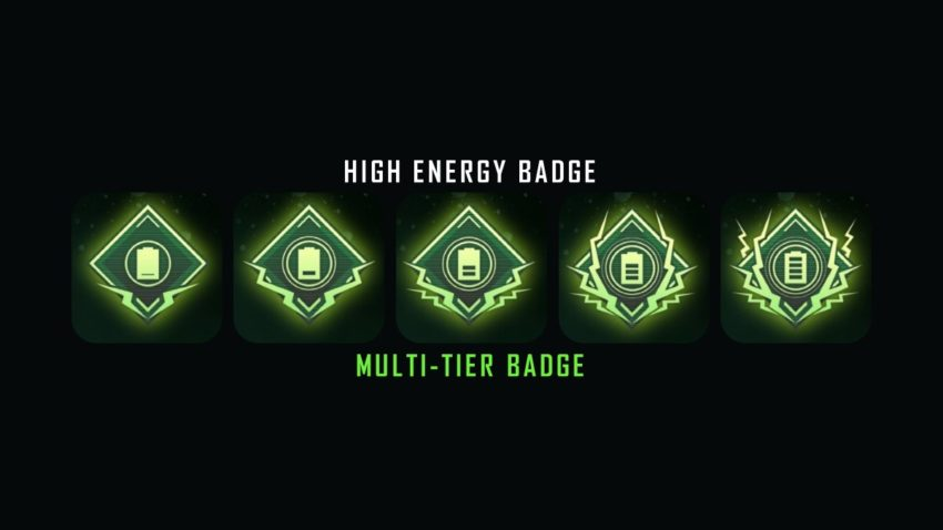 Monster Can Badge tiers