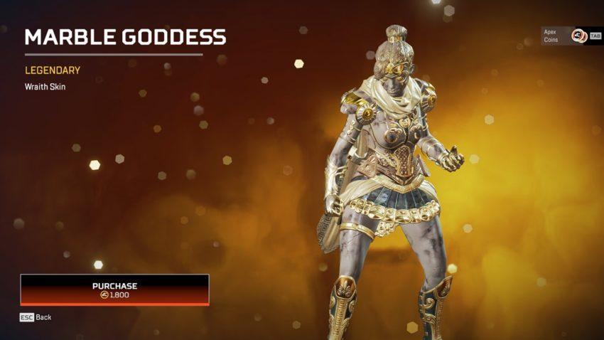 Marble Goddess