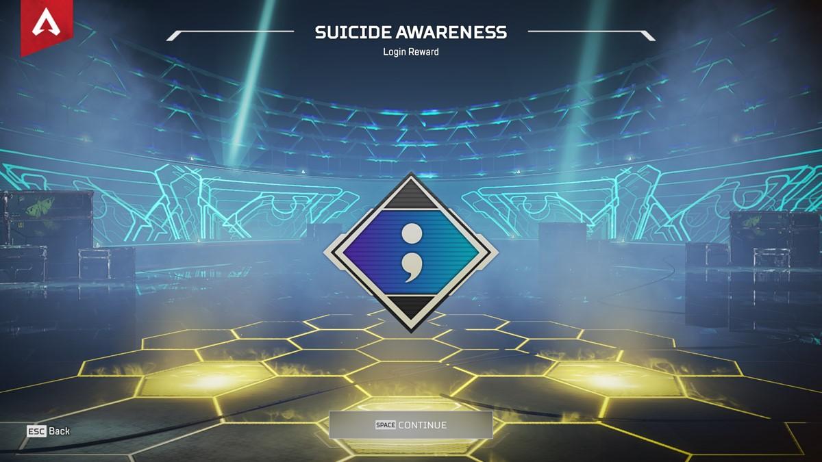 Suicide Awareness Badge