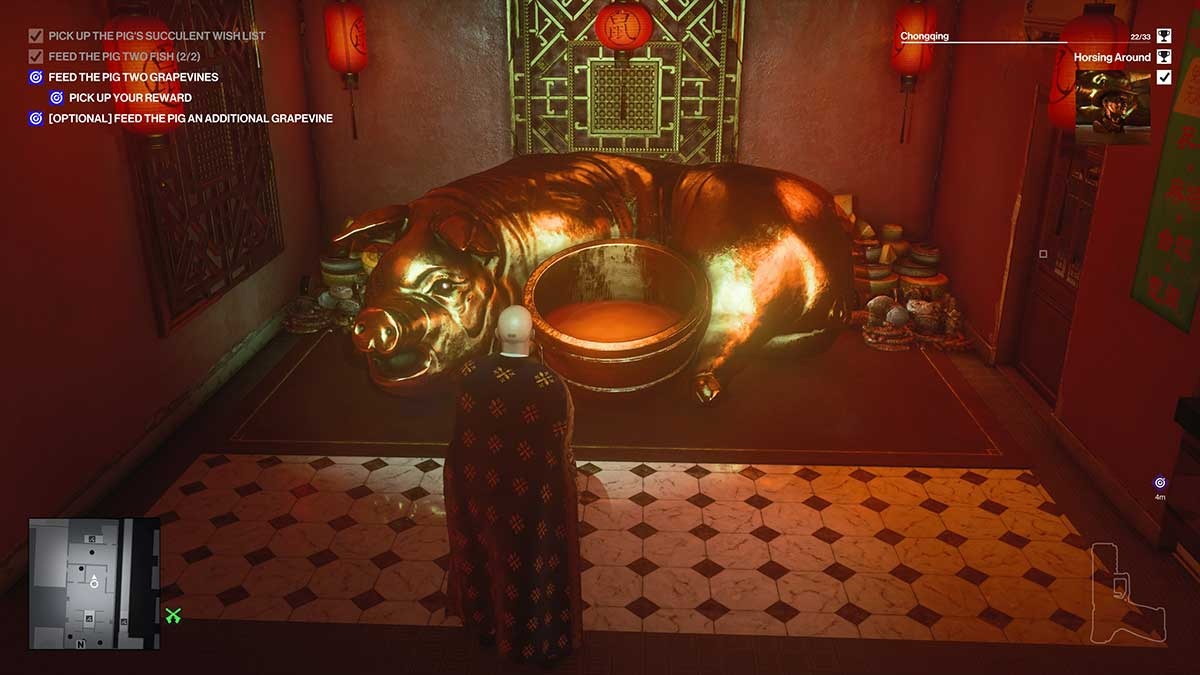 how-to-complete-the-horsing-around-challenge-in-hitman-3-gluttony-gobbling