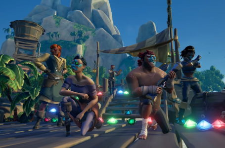 What is the route for the Everyone Can Tavern Crawl and Brawl in Sea of Thieves?