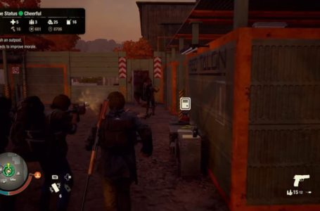 Best bases in Trumbull Valley in State of Decay 2