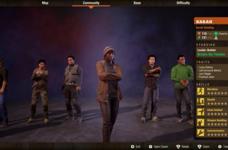How to promote a leader in State of Decay 2