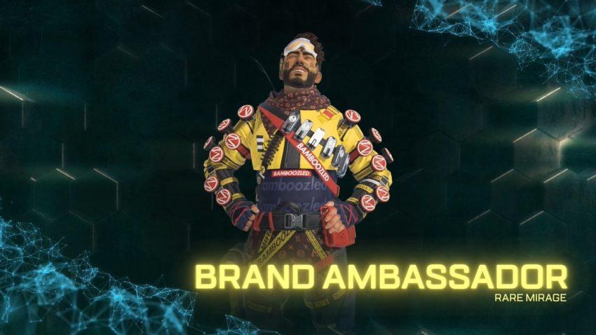 Brand Ambassador Mirage rare skin
