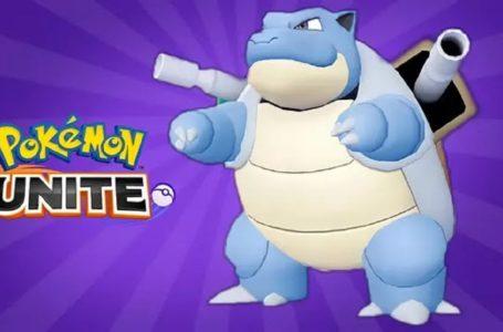 Best Blastoise build, moves, evolutions, and items in Pokémon Unite