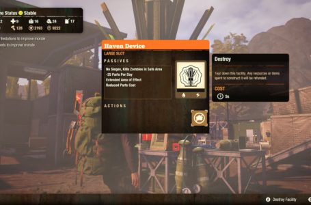 How to get the Haven Device in State of Decay 2