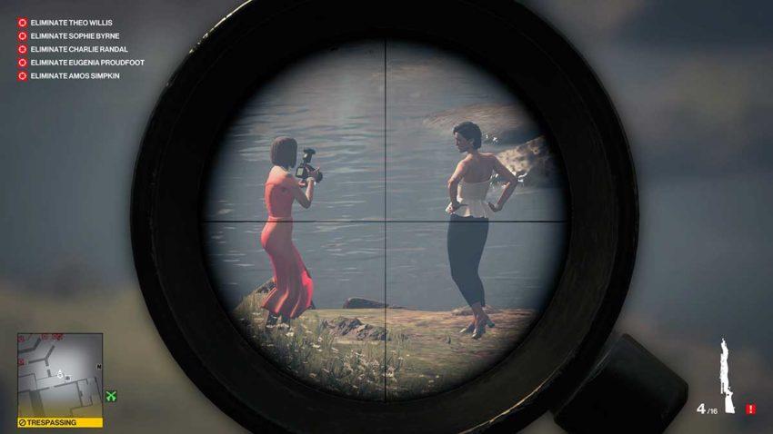 the-first-kill-hitman-3-dartmoor-garden-show-sniper-assassin