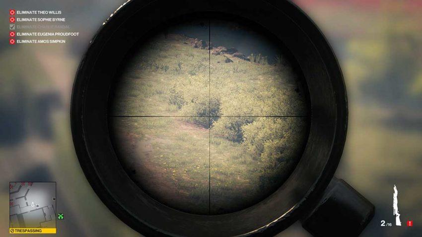 shoot-bushes-hitman-3-dartmoor-garden-show-sniper-assassin