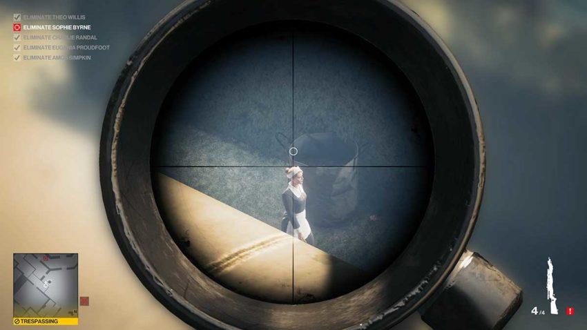 final-target-glitch-hitman-3-dartmoor-garden-show-sniper-assassin