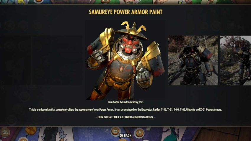 samureye-power-armor-paint-fallout-76-season-6